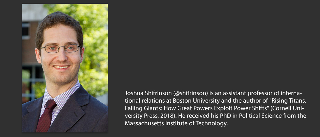 Joshua Shifrinson