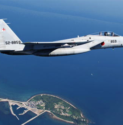 A Japanese F-15 fighter jet (Courtesy of Japan's Self-Defense Forces)