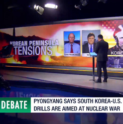 Debate: Tensions on Korean Peninsula