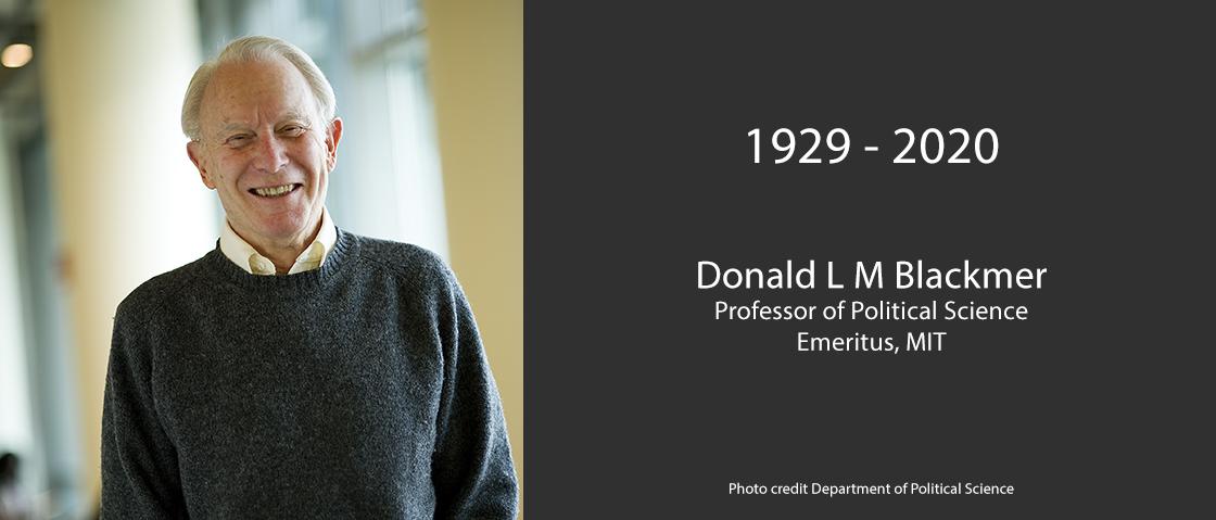 Donald L M Blacker image and memorial