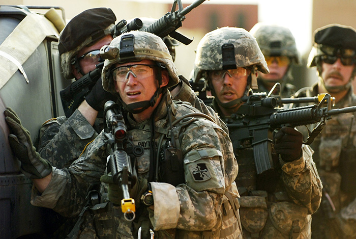 US Army ready to fight