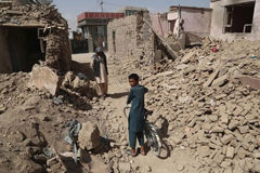 After a Taliban attack in Ghazni, Afghanistan, on Aug.16, 2018.