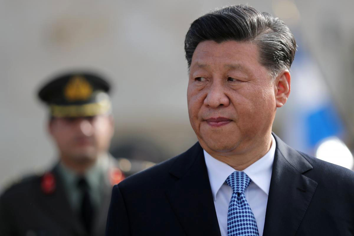 Chinese President Xi Jinping in Athens, Greece, November 2019