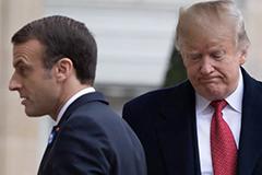 Trump Europe WWI remembrance