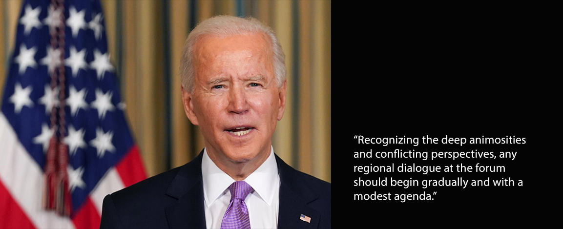 President Biden and quote from article