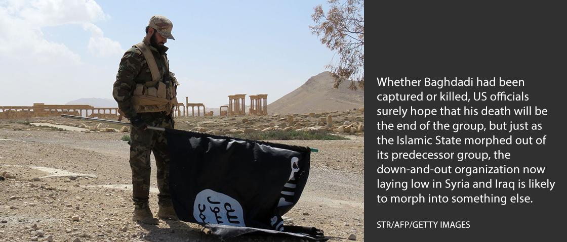 Baghdadi Isis Martyrdom