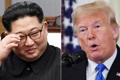 North Korean leader Kim Jong Un and President Donald Trump. KOREA SUMMIT PRESS POOL,MANDEL NGAN/AFP/Getty Images