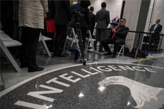 President Trump visited the Central Intelligence Agency in Langley, Va., in January. Officials have not ruled out the possibility that the leaker was an agency employee.
