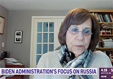 Carol Saivetz screen shot interview with NECN
