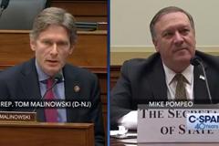 @RepMalinowski asks SecPompeo about NorthKorea, Kim Jong Un and Otto Warmbier.