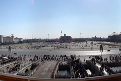 Panoramic view of Tiananmen Square, from Wikipedia