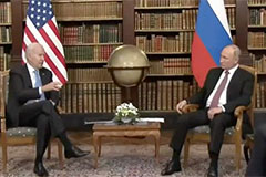 Biden and Putin meeting at recent 2021 summit