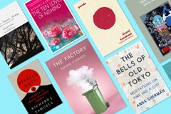 Images of book covers - Literature at the end of the tunnel: Though the Japanese summer will soon be at its peak, there's nothing like a good book to distract from the heat.
