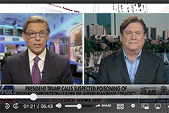 Screen shot of Jim Walsh on Fox News