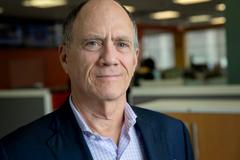 Joel Brenner, former inspector general for the National Security Agency. (Robin Lubbock/WBUR)