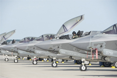 US fighter planes