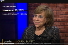 Carol Saivetz, senior advisor at MIT's Security Studies Program.