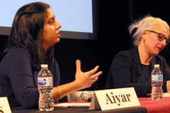 Sana Aiyar, an associate professor of history at MIT