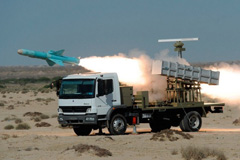 The S-400 can destroy the Nasr nuclear missiles of Pakistan. In Picture: Nasr 1 being fired.