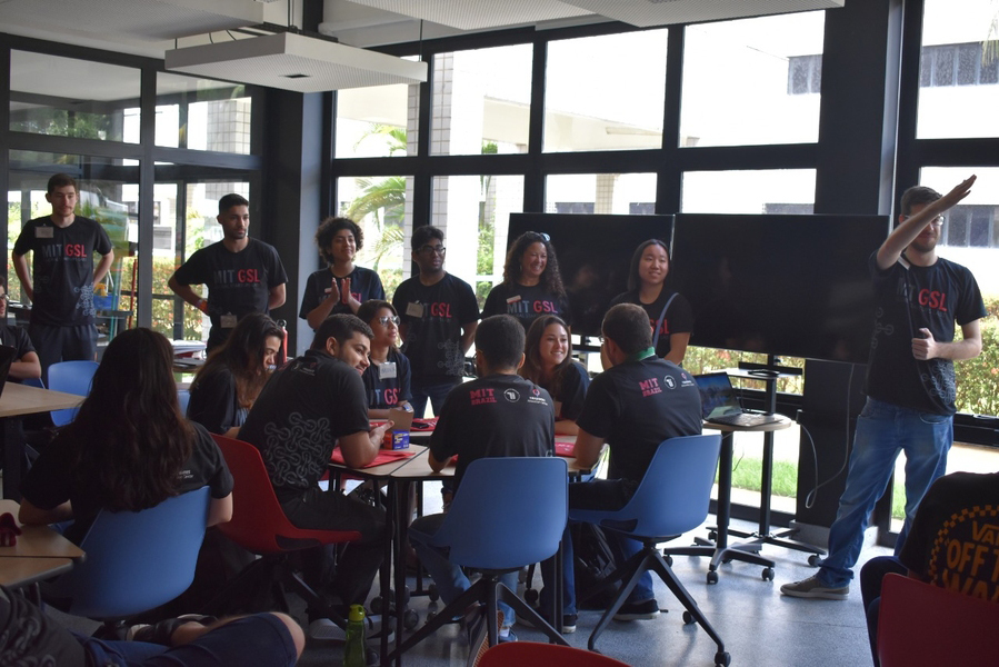 GSL participants collaborate in Brazil this past January
