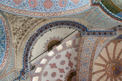 "Detail of the Sultanahmet Mosque (the ""Blue Mosque""), in Istanbul"