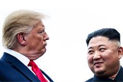 US President Donald Trump and North Korean leader Kim Jong Un