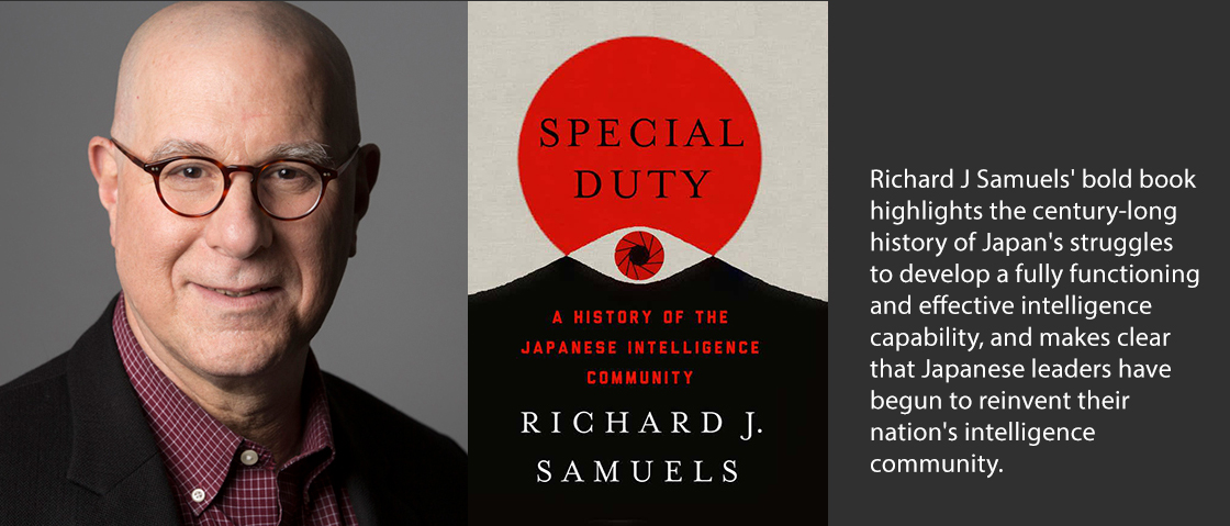 Richard Samuels and book