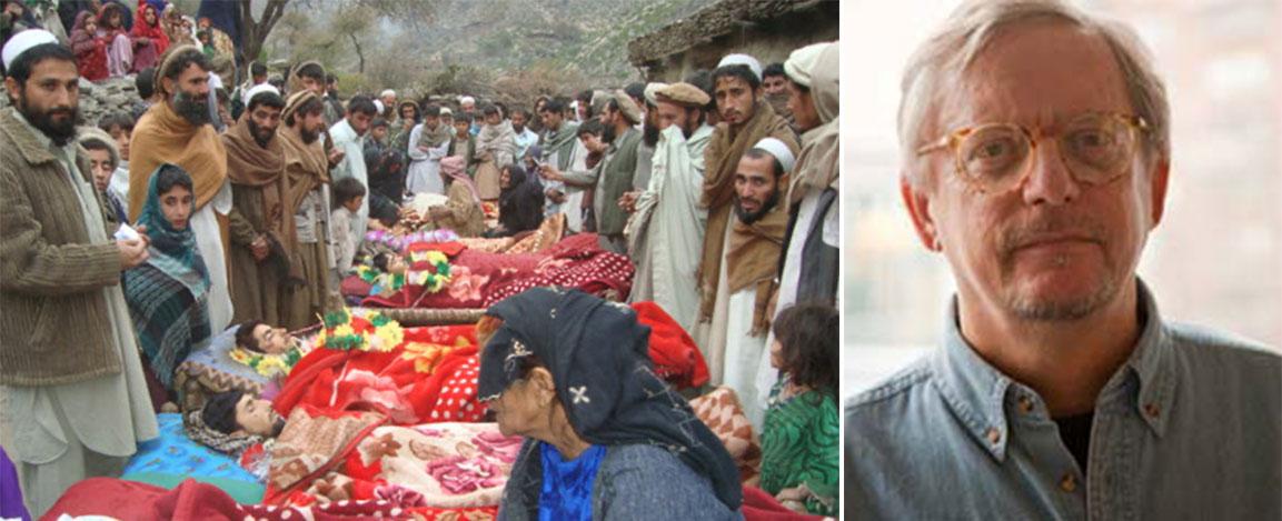 Victims of the Narang night raid that killed at least 10 Afghan civilians, December 2009