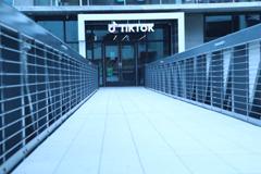 TikTok building entrance