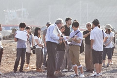 Last summer, a team of students and faculty members from MIT traveled to Minami-sanriku, Japan, to survey damage caused by the March 2011 tsunami.  Image courtesy of the MIT Japan 3.11 Initiative