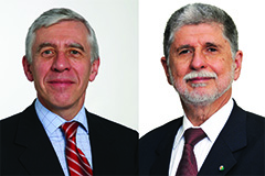 Jack Straw and Celso Amorim