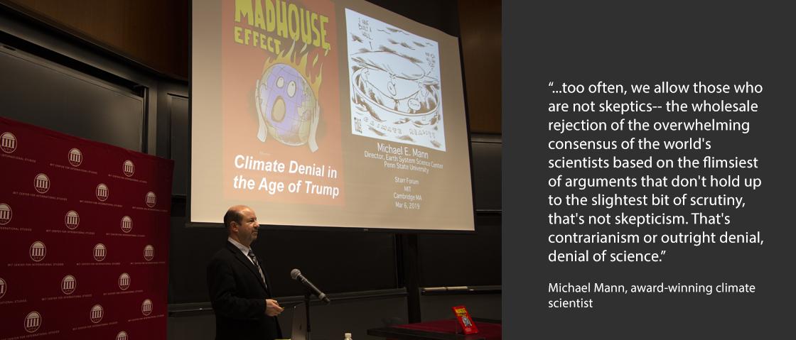 Michael Mann speaking at MIT