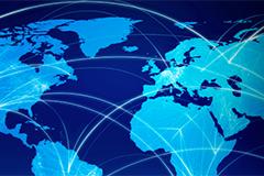 Global world map