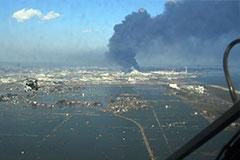 Birds eye view of Japan's 311 disaster